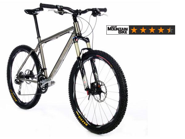 On-One Ti 456 XT Pro 4.5/5 in What Mountain Bike Magazine
