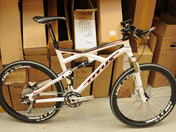 Titus X Carbon test bike